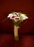 Calla-Lilien-Blumenstrauß Stockfotografie