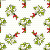 Calla lilies gift bouquets seamless pattern Royalty Free Stock Image