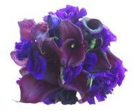Calla lilly и цветки eustoma Стоковое фото RF