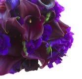 Calla lilly и цветки eustoma Стоковые Изображения