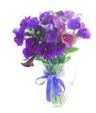 Calla lilly och eustomablommor Royaltyfria Bilder