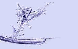 Calla van het water Lelie Stock Afbeeldingen