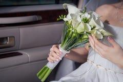 Callal bouquet Stock Images