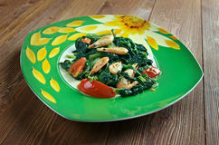 Callaloo spinach Stock Images