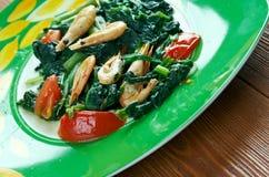 Callaloo spinach Royalty Free Stock Photos
