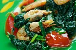 Callaloo spinach Stock Photos
