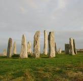 callanish μόνιμη πέτρα κύκλων Στοκ εικόνα με δικαίωμα ελεύθερης χρήσης