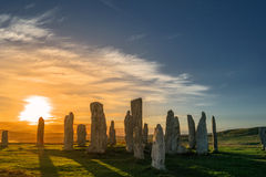 Callanish Fotografie Stock