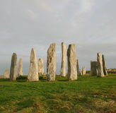 Callanish Standing Stone Circle Royalty Free Stock Image