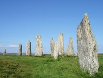 Callanish Standing Stones (Calanais Stone Circle) royalty free stock image