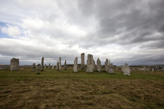 The Callanish standing stones Stock Photos