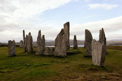 The Callanish standing stones Royalty Free Stock Images