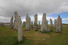 Callanish Standing Stones, Isle of Lewis, Scotland Royalty Free Stock Images