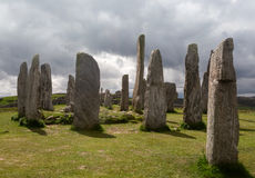 Callanish standing stones Stock Image