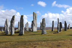 Callanish standing stones. Stock Photography