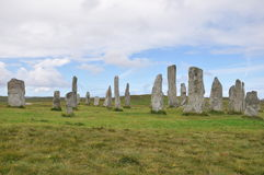 Callanish Stone Circle Royalty Free Stock Photo