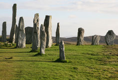Callanish Stone Circle, Outer Hebrides Stock Photography
