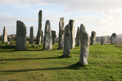 Callanish Stone Circle, Outer Hebrides Royalty Free Stock Photo