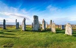 The Callanish Stone Circle stock photography