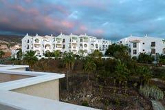 CALLAO SALVAJE, TENERIFE/SPAIN - 19-ОЕ ЯНВАРЯ 2015: Заход солнца на Ca Стоковые Изображения