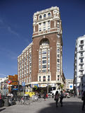 Callao Square in Madrid Royalty Free Stock Images