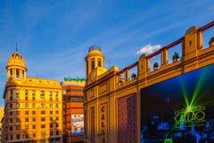 Callao Square, Madrid Royalty Free Stock Photo