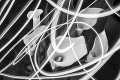 Callas & de ljusa linjerna Royaltyfria Bilder