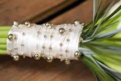 Callas wedding bouquet. White wedding bouquet of callas Stock Photo
