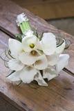 Callas wedding bouquet Stock Photography