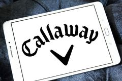 Callaway Grać w golfa Firma logo Zdjęcie Stock
