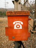 Callbox in Power substation Royalty Free Stock Photo