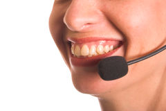 Callcenter Royalty Free Stock Photo