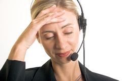 Callcenter Stock Photography