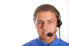 Callcenter Photo stock