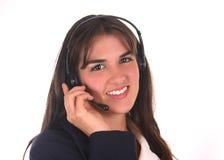 Callcenter Bediener III Lizenzfreies Stockbild