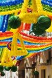 Calle adornada Imagen de archivo libre de regalías