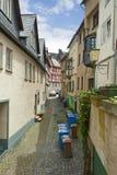 Calle alemana Foto de archivo libre de regalías