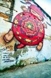 Calle Art Phuket fotos de archivo libres de regalías