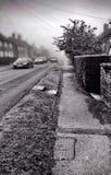 Calle blanco y negro Fotografía de archivo libre de regalías