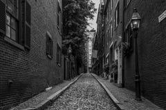 Calle Boston de la bellota fotos de archivo libres de regalías