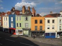 Calle Bristol de Colston Imagenes de archivo