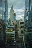 Calle CDMX del panorama de Ciudad de México fotografía de archivo