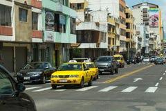 Calle Cevallos Stock Afbeelding