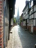 Calle Cobbled Fotografía de archivo libre de regalías