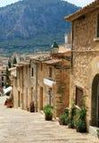 Calle cobbled mediterránea tradicional vieja Fotos de archivo libres de regalías