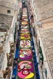 Calle colorida Imagen de archivo libre de regalías