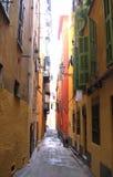 Calle colorida Imágenes de archivo libres de regalías
