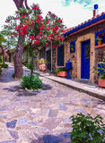 Calle colorida Fotos de archivo libres de regalías