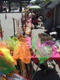 Calle comercial escénica Fotografía de archivo