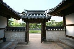 Calle coreana vieja Fotos de archivo